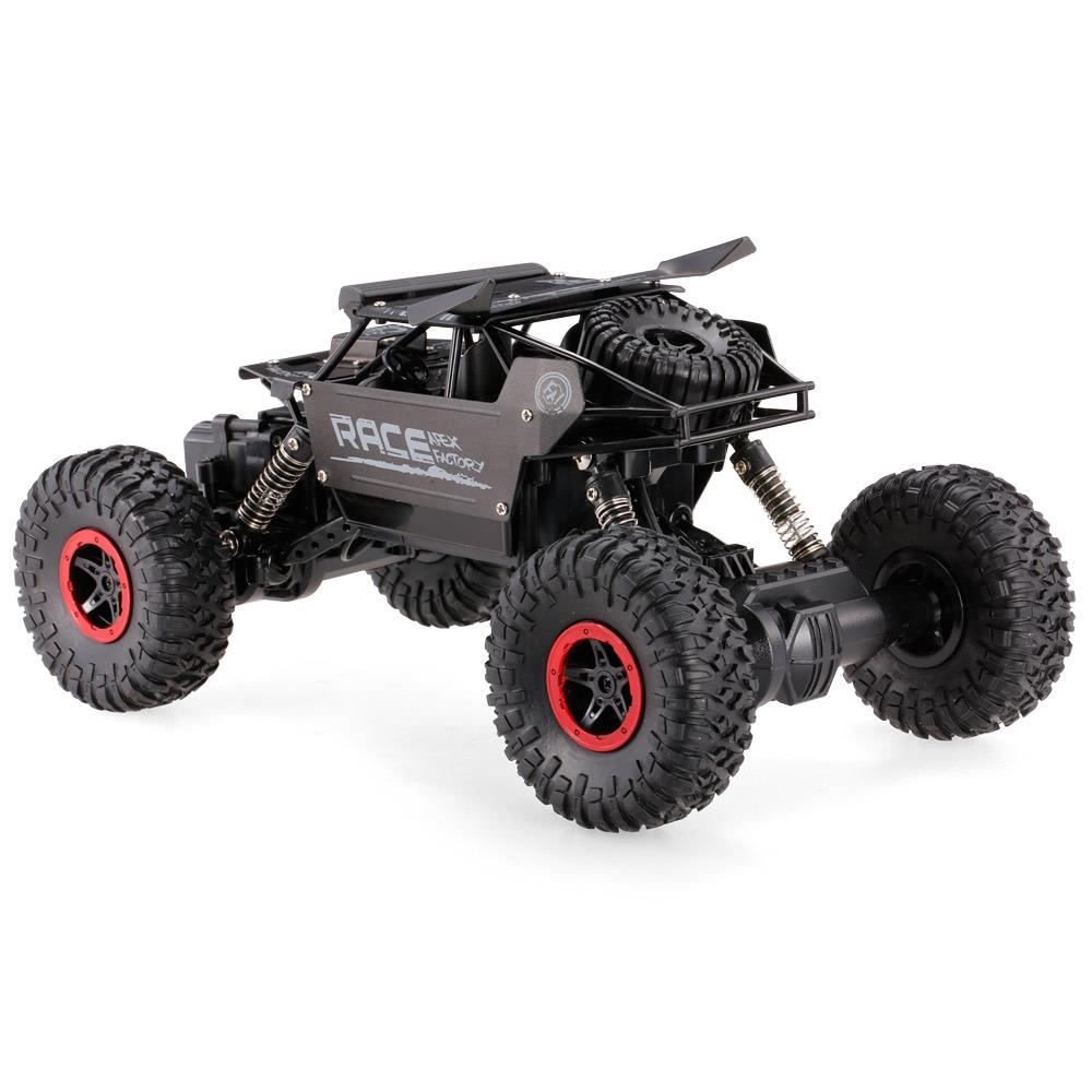 HB Rock Crawler 1:18 Black Metal - RTR
