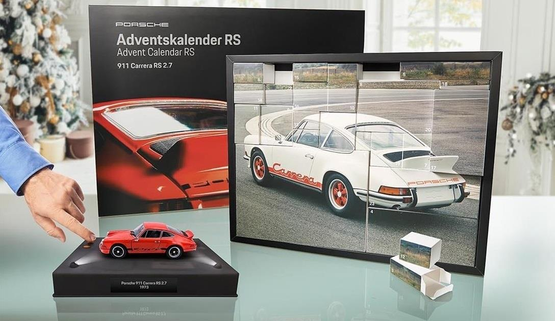 Franzis Porsche 911 Carrera RS2.7 adventskalender
