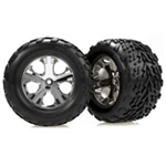 TRX-3668 Tires & wheels, assembled, glued
