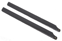 BRG-5001 350mm Fiberglass Main Blades Black