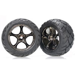 TRX-2478A Tires & wheels, assembled Badit Rear