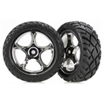 TRX-2479R Tires & wheels, assembled Bandit front