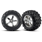 TRX-4973R Tires & wheels, assembled Revo/Maxx