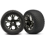 TRX-3770A Tires & wheels, assembled, glued (2.8)