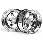 HPI-3592 Workmeister S1 Wheel - 26mm Chrome