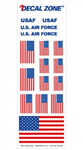 Decal Zone: U.S. Air Force - 300x100mm