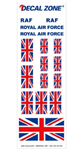 Decal Zone: Royal Air Force - 300x100mm