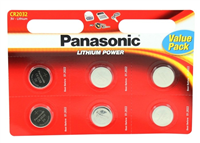 Panasonic CR2032 6stk