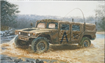 ITALERI 1:35 - Hummer M998 - Command Vehicle