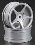 HPI-3698 Super Star Wheels 26mm Gray