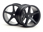HPI-3031 Super Star Wheel 57x35mm (2.2in) Black