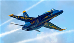 ITALERI 1:72 - F/A-18 Hornet Blue Angels