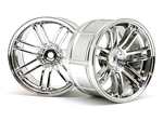 HPI-3341 LP32 Wheel Rays Volk Racing RE30 Chrome