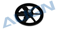 HS1220AAT 450 Autorotation tail drive gear-Black