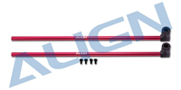 H15T002XRT 150 Tail Boom Red x 2