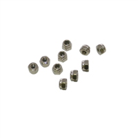 M3 Nylon Locknuts (10pcs)