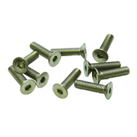 M3x10mm Flat Head Screw (10pcs)
