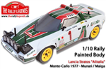 EZRL2226 Lancia Stratos body printed white