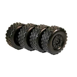 EZRL2390 Trakker Tire and Wheel Set 4pcs