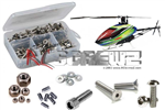 Align 450 Dominator Stainless Steel Screw Kit