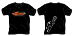 Slang T-shirt Splash Svart (L)