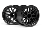 HPI-109155 BBS Spoke Wheel 48x34mm Black