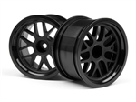 HPI-109156 BBS Spoke Wheel 48x31mm Black