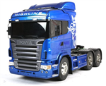 Tamiya dragbil 1/14 Scania R620 Blue - Kit