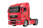 Tamiya dragbil 1/14 MAN TGX 18.540 4x2 Red-Kit