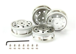 TAM-56518 Metal Plated Rear Wheels (4)
