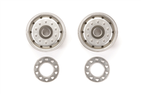 TAM-56520 Metal Plated Wheels - 30mm/Matte Finish