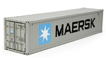 TAM-56516 Maersk 40ft Container 1/14