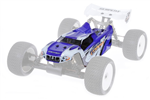 SER-170340 Body 1/8 E-Truggy Pre Cut Blue