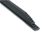 Carbon strip 2x12x1000mm - Bronto