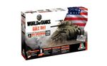 ITALERI 1:56 - World of Tanks - Sherman M4