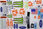Decal Sheet - Ford Monster Theme