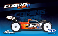 Serpent Cobra SRX8E 1/8 Buggy Race Kit