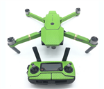 Green Carbon Stickers för DJI Mavic Pro