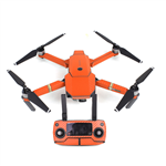 Orange Carbon Stickers för DJI Mavic Pro