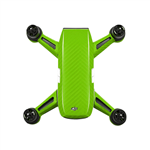 Green Carbon Stickers for DJI Spark