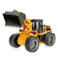 HuiNa Wheel Loader w / Metal Skål 2.4Ghz 1:18