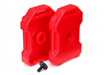 TRX-8022 Fuel Canister Red TRX-4 (2)