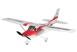 Top RC Cessna 182 Rød - KIT