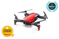 DJI Mavic Air - Fly Mer Combo - Flame Red