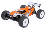 SER-170338 Body 1/8 E-Truggy Pre Cut Orange