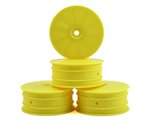 JConcepts Mono 3381 1/10 Front Wheel (4) -Yellow