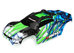 TRX-8611G Body E-Revo 2 green with decals