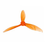 Gemfan Flash Durable 3 Blade 5149-Clear Orange