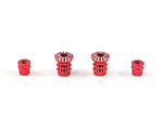 FrSky M3 Stick End Lotus Red. 2-pack