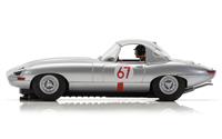 Scalextric Jaguar E-Type - Nurburgring 1963